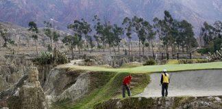 La Paz Golf Club, Bolivia