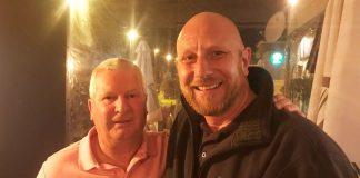 Men's Pairs Winners Hugh Galloway and Graham Solomons of The Jackals.