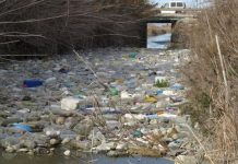 A river of plastic in Guardamar
