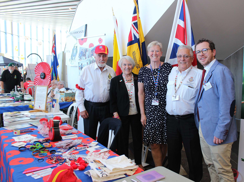 The Royal British Legion, providing support for veterans