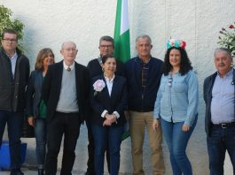 Hundreds of locals and visitors celebrate Andalucía Day in Mojácar