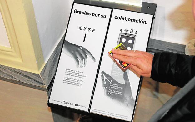 Catholic church introduces Swipe Card Machine