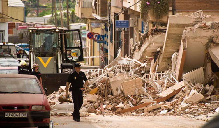 The 2011 earthquake in Lorca resulted in 9 deaths