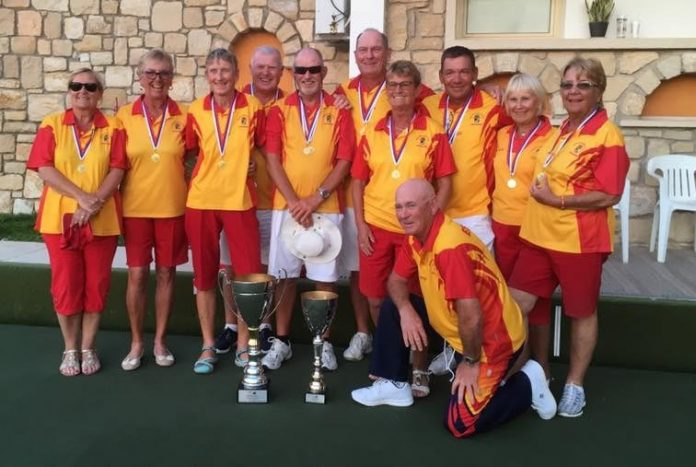 The Spanish National Squad in Cyprus
