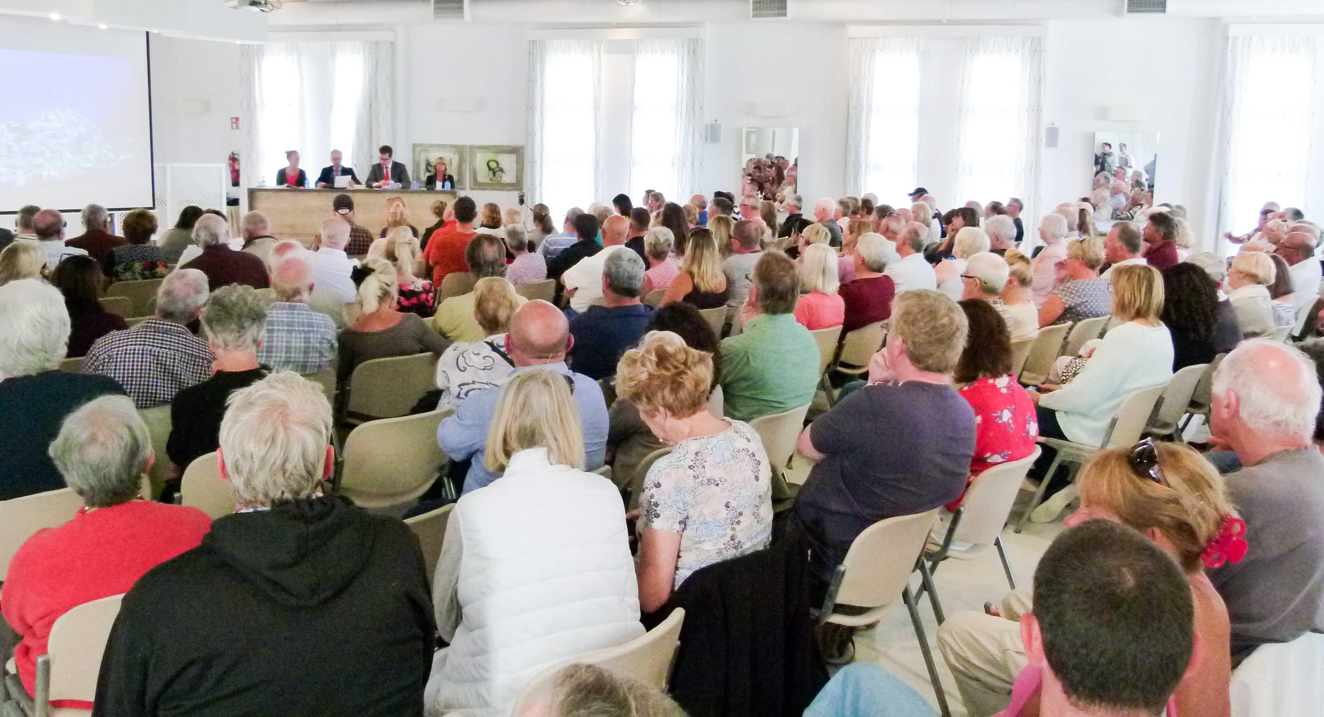 Brexit Forum held in Mojacar