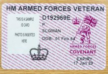 A new ID card for armed forces veterans