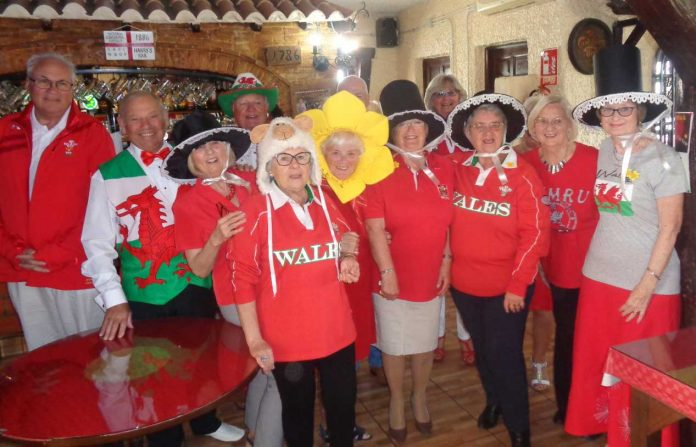 Proud to be Welsh at the RBL