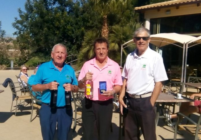 Picture from L to R: Ray Housley, Alistair Douglas, Mike Davies.