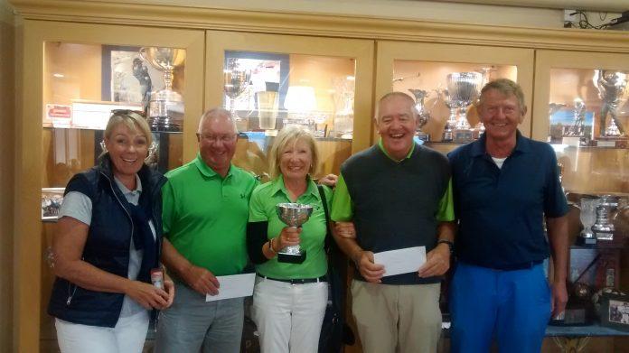 Montgo golf society members vie for Oliva Nova Cup.