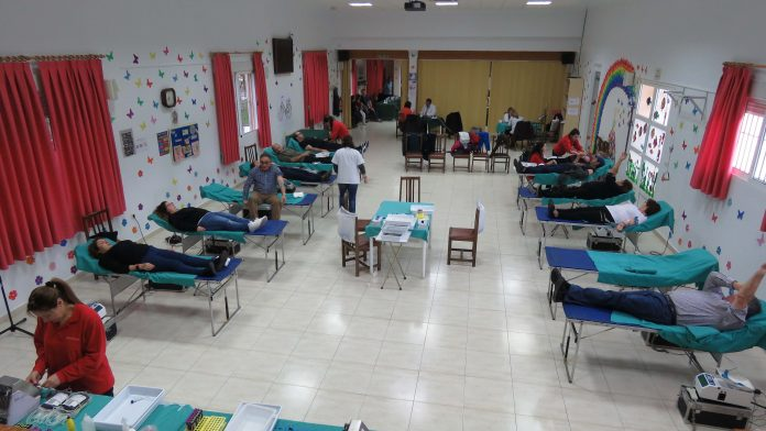 Plenty of new donors give blood in Pilar