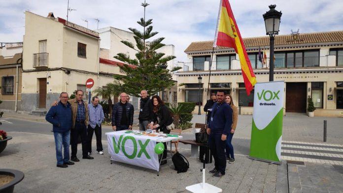 Alicante leaders of Vox ignore the community border closure