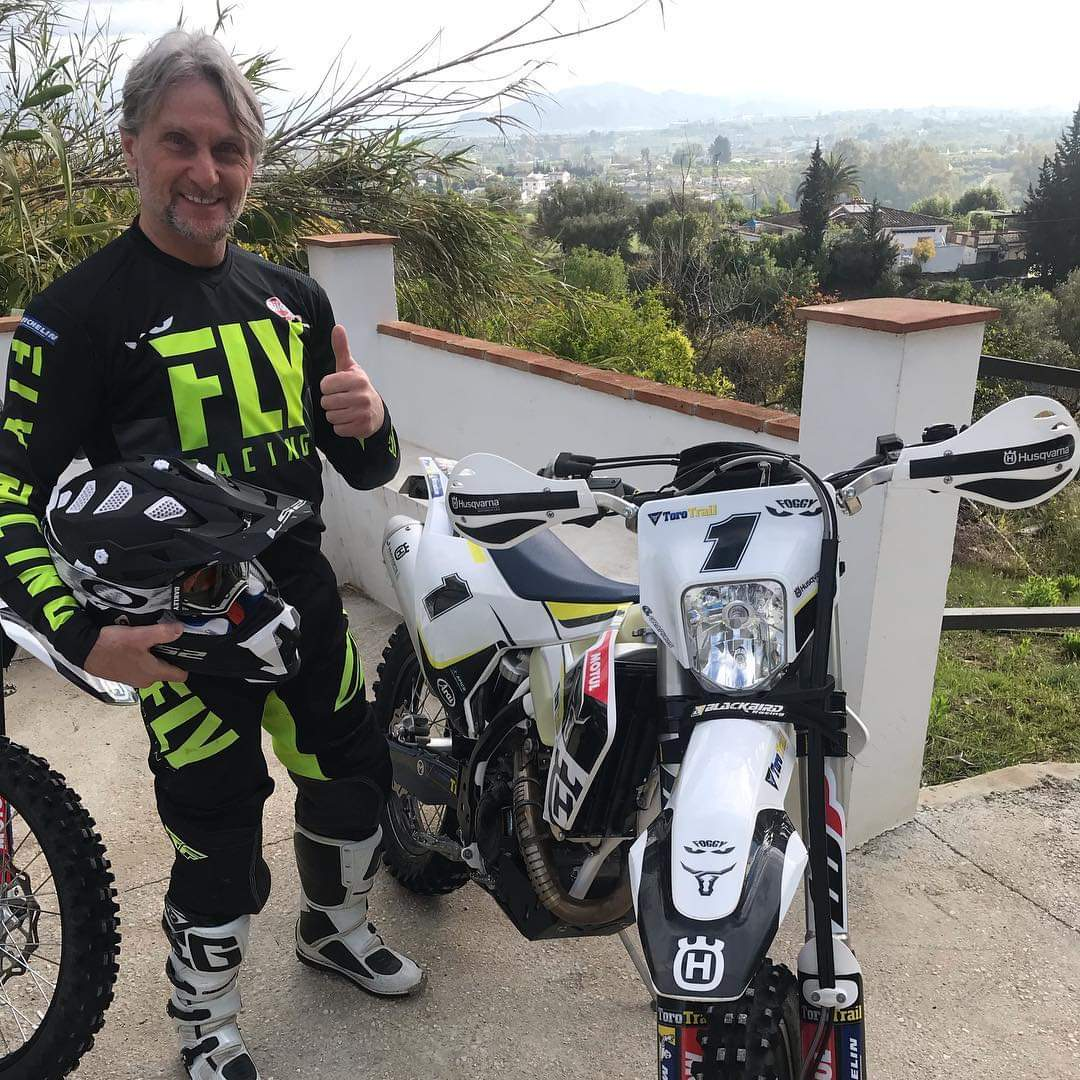 Fogarty in Andalusia, Spain, in April 2019. Photo: Instagram.