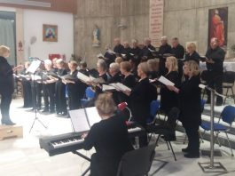 Andante International Choir Performs Two Charity Concerts in April