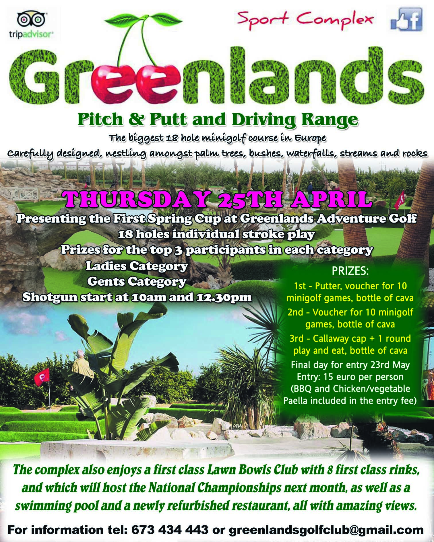Greenlands 1st Spring Golf Cup