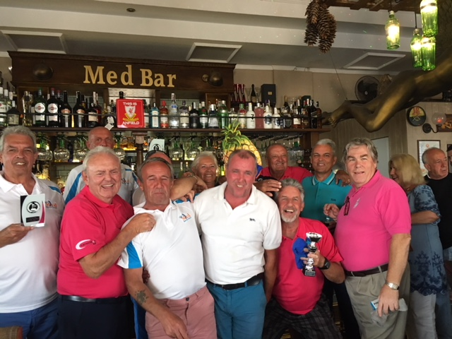 The Med Bar Golf Society. Alenda 16/4/19