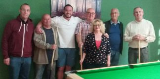 Members of The Courtyard Pool team in Los Montesinos.