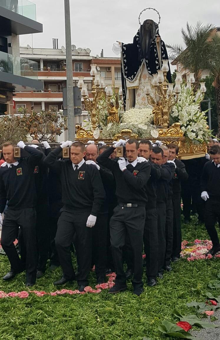 Los Montesinos Easter Sunday resurrection parade