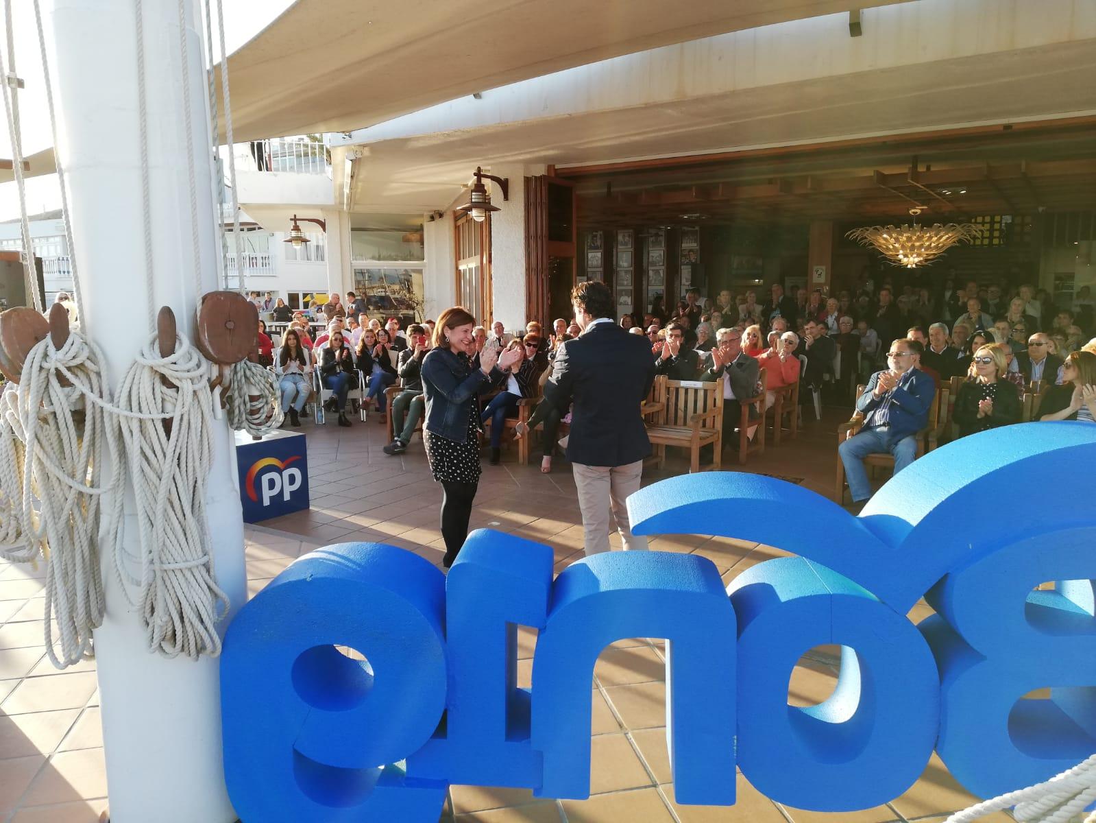 Eduardo Dolón delivers his campaign message