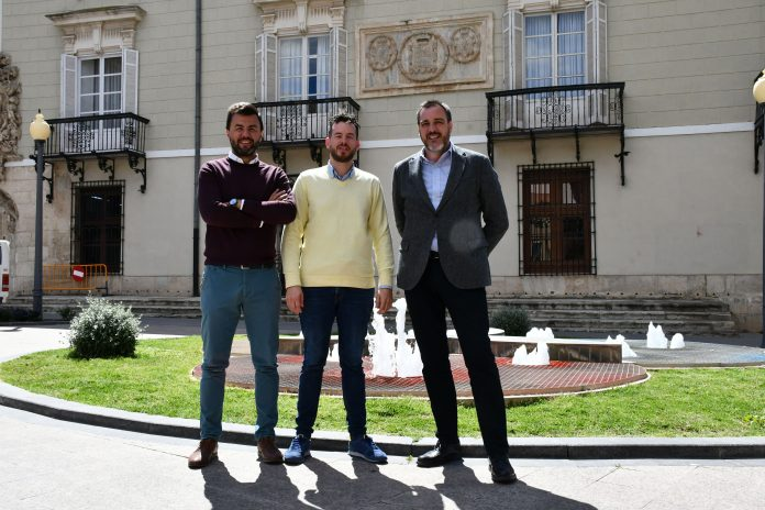 José Aíx, Antonio Sánchez and Lopez Bas.