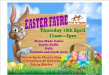Pets in Spain Easter Fayre