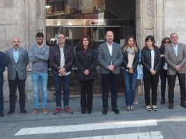 Orihuela silence in memory of Quesada death