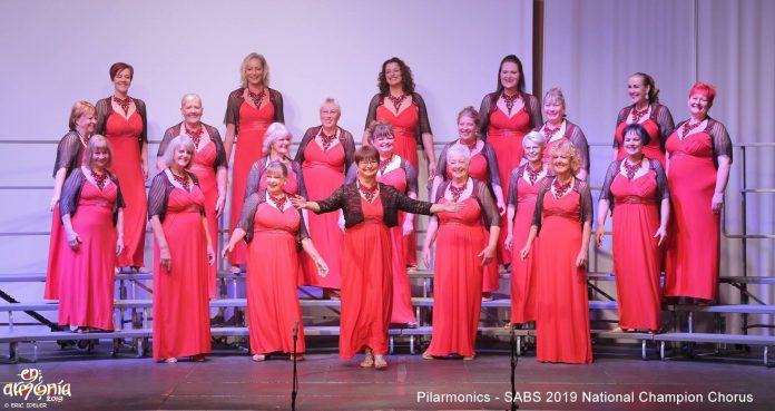 Pilarmonics - SABS National Champion Chorus 2019 by Eric Ideler.
