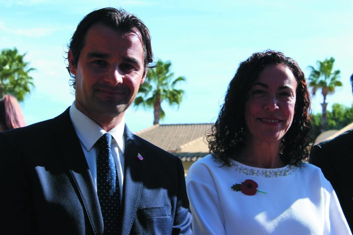 Eduardo Dolon and Rosario Martinez ar the PP numbers 1 and 2