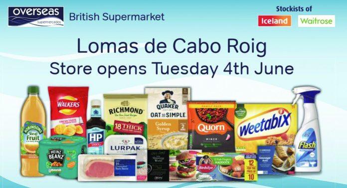 New Orihuela Costa store for Overseas Supermarkets