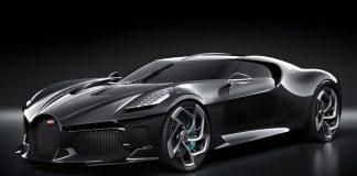 Ronaldo - £9.5m Bugatti La Voiture Noire.