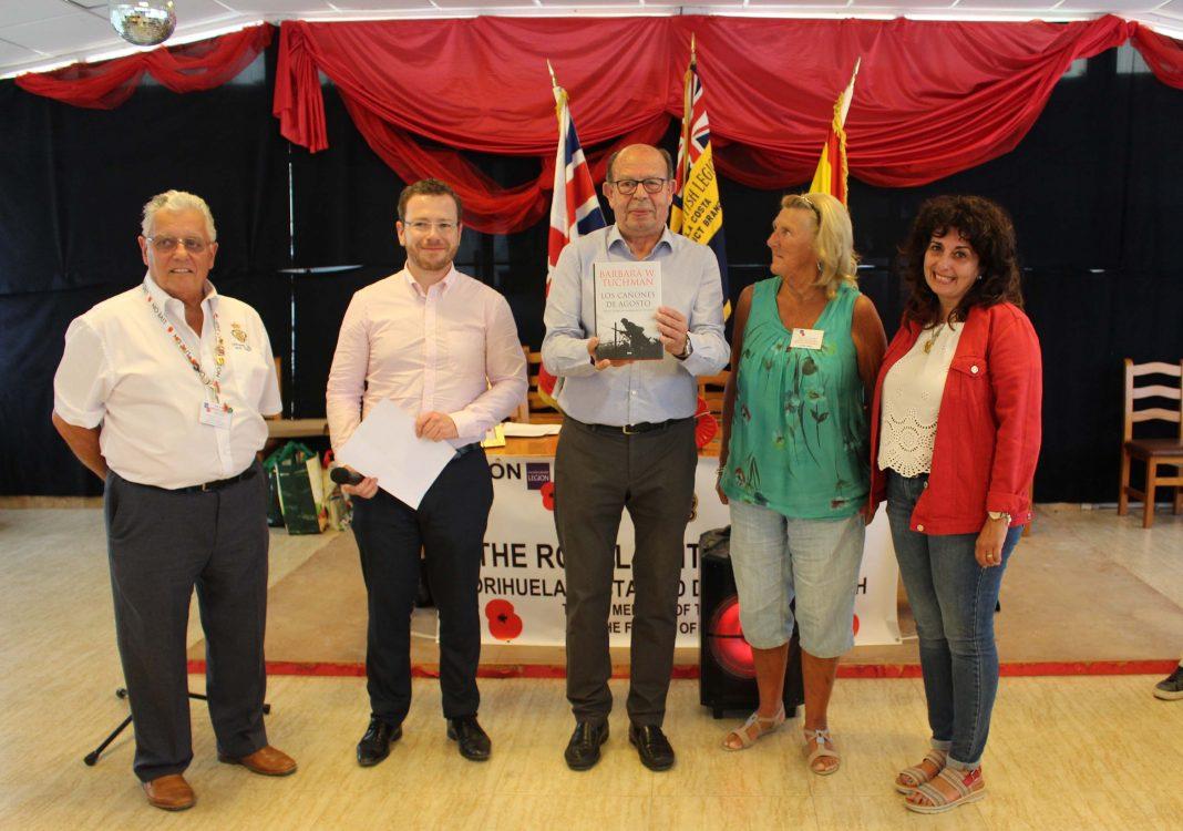 The Royal British Legion pay tribute to Ignacio Ramos