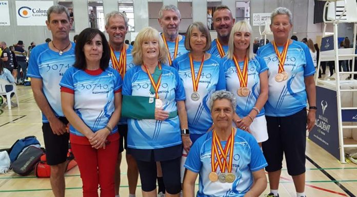 Local Players raid Badminton Nationals in Mallorca