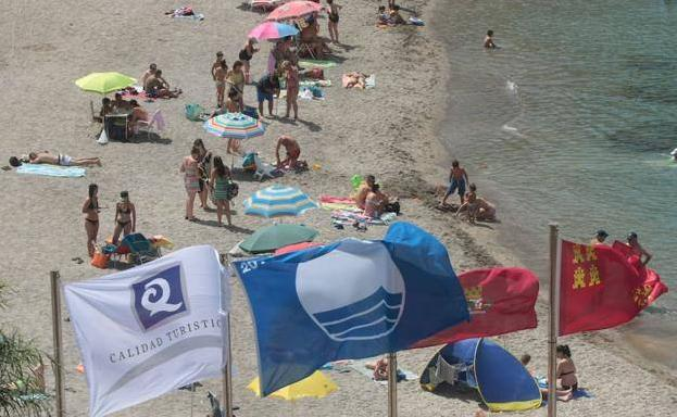Mar Menor beaches achieve 31 blue flags