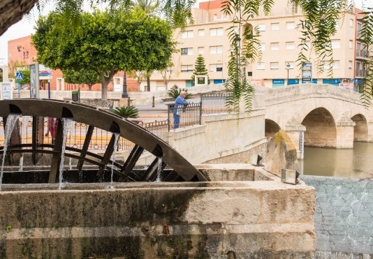 Work suspended on Rojales Bridge