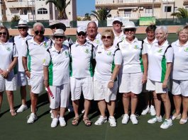 Greenlands Bowls Club with Dave Webb