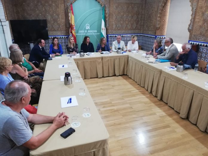 AUAN COORDINATES WITH THE JUNTA AND ASKS FOR URGENT SOLUTIONS FOR ZURGENA, ARBOLEAS AND ALBANCHEZ: