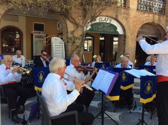 The Royal British Legion Concert Band, Spain