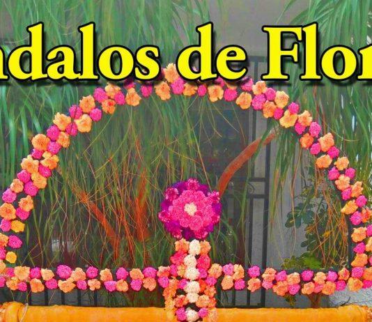 MOJÁCAR PREPARES FOR 'INDALOS DE LAS FLORES' 2019