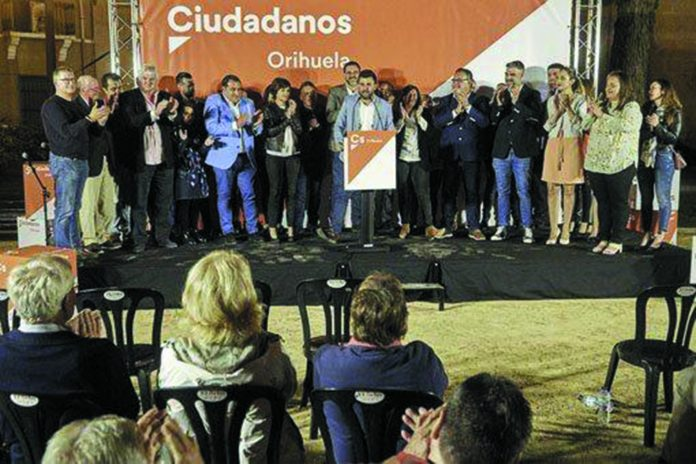 Ciudadanos sees share of vote increase in Orihuela