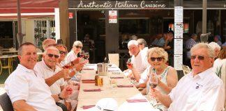 Lunch at La Piazza
