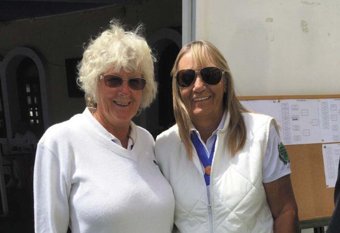 Lynne and Margaret ladies pairs