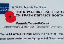 The Royal British Legion in Spain North