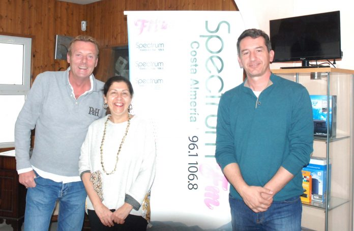 Mojácar's Mayor talks on Spectrum Radio's