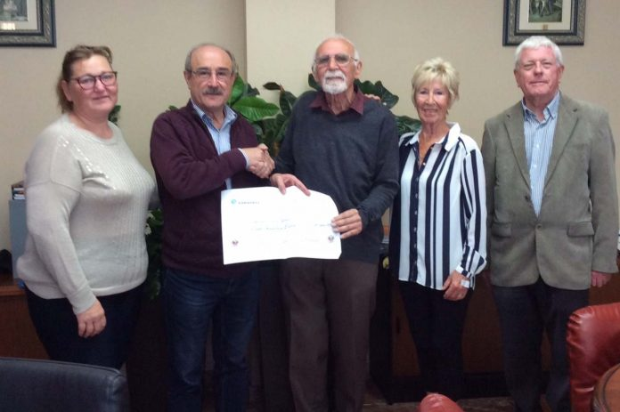 ROJALES SOCIAL SERVICES benefit from an 800€ donation
