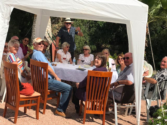 Local Masons hold garden party for charity