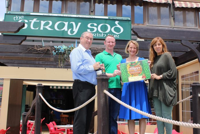 """The Irish pub with the best atmosphere was awarded to the """"Stray Sod"""" in the very popular La Fuente centre."""