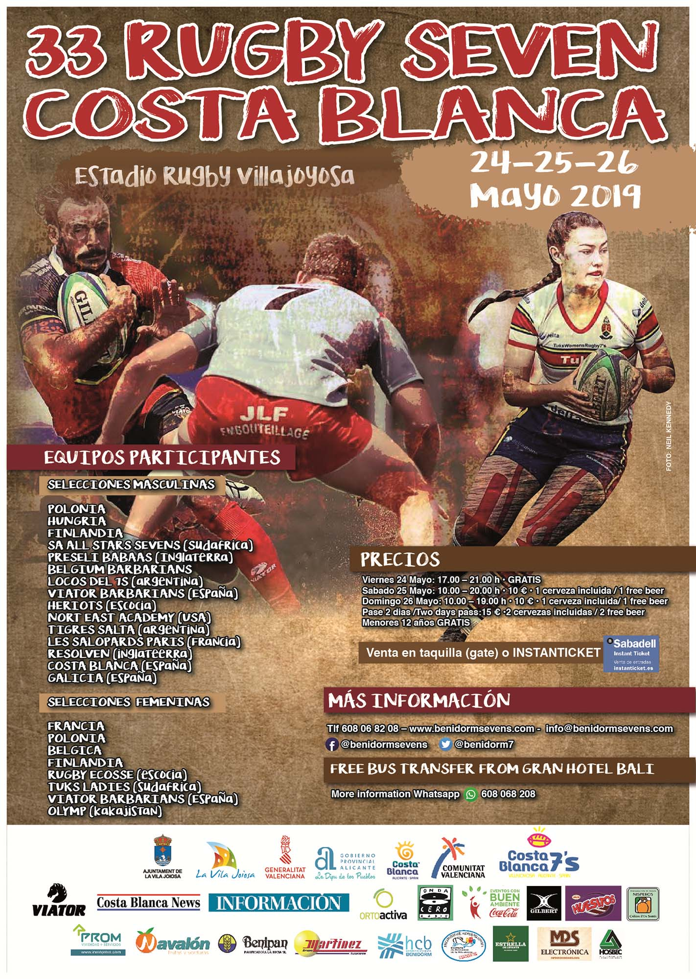 33rd INTERNATIONAL RUGBY SEVENS COSTA BLANCA