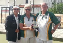 CONGRATULATIONS to El Cid's Halina and Paul Leeder WINNERS of the Trevor Wearn Memorial Rose Bowl Mixed Pairs.