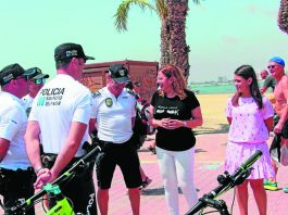 San Pedro Beach Police a force to reckon with