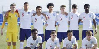 Net gain in Spain - England u17 keeper Nathan Broome.