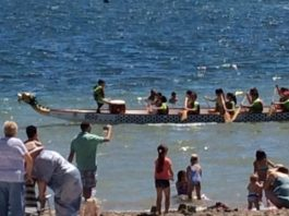 San Javier Escolar de Dragon Boat race